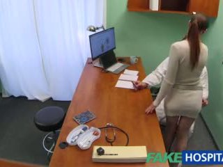 Fakehospital doktor gets seksowne patients cipka mokre