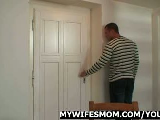 Wife pissed off cause I just fucked her mom