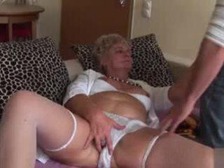 Аматьори анално бабичка - много неприятен!