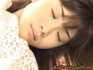 Asuka ohzora hawt azjatyckie modelka acquires seks cream