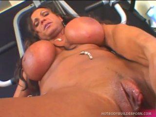 Rhonda lee works rod fontana s الحب muscle