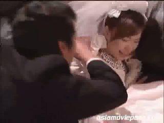 japonisht, uniformë, brides i ri