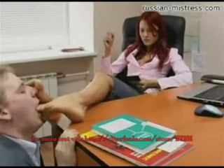 Russian-mistress piede schiavo