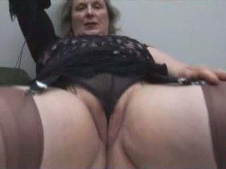 striptease, granny, solo