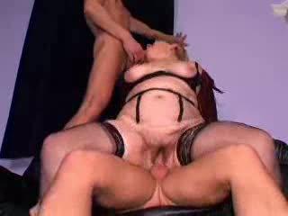 Fiery Redheaded Granny Sluts Take On Hot Group Sex