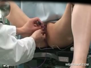 Aziýaly cutie gets amjagaz vibed at the gynecologist