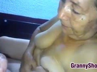 granny, blowjob, latin