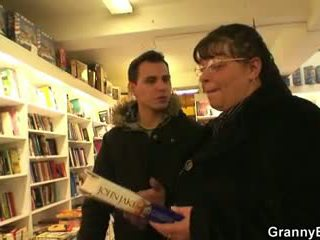 He Picks up Busty Bookworm Mature Woman, Porn f8