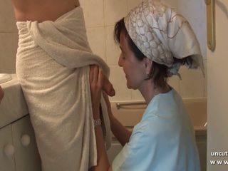 sperma im mund, französisch, anal