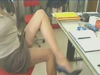 Fantastic picioare în ciorapi scurti suspender!