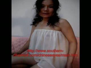 Cinese sposato moglie in lingerie