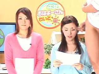Jav Cfnm Female Newscasters Endure Cumshooting Sce