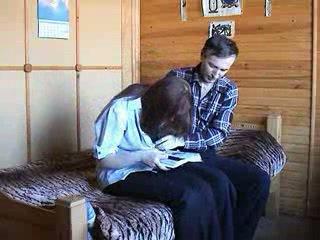 Tineri rus cuplu
