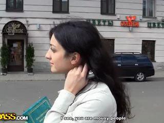 Bionda in anale pubblico cazzo video