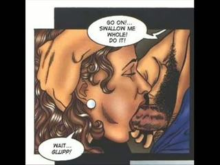 Kaslı cinsel erotik hermafrodit comics