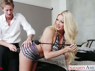 Hot blond sommer brielle gets facialized