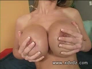 Girl With Big Bodacious Knockers Abby Rode Sits On Couch On Top Of A Guy Fucking Him