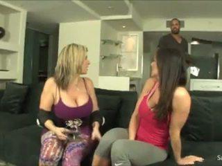 Sara Jay and Kendra Lust - SpankBang