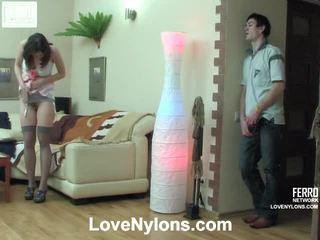 Jaclyn y vitas ardent calcetas vídeo actividad