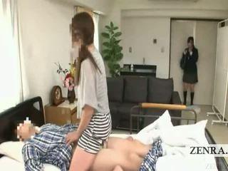 Subtitled japonská školačka nemocnice máma jsem rád šoustat překvapení