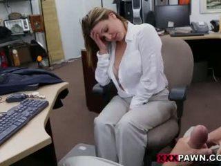 chupar, fellatio, oficina