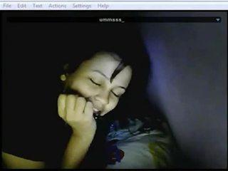 webcam, masturbacji, kiciuś