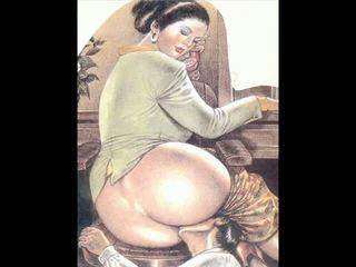 만화, bdsm art