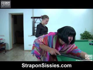 crossdress, ในอุดมคติ สื่อลามกฟรีในวิดีโอ, strapon เพศ กองบัญชาการ