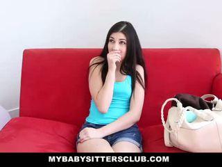 Mybabysittersclub - 베이비 시터 fucks 그녀의 보스 에 유지 그녀의 일