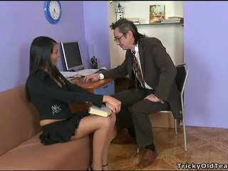 Delightful anal sex with teacher