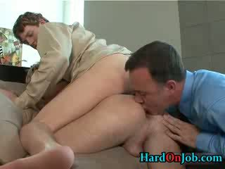 Hooters gay sexo a 3 rimming