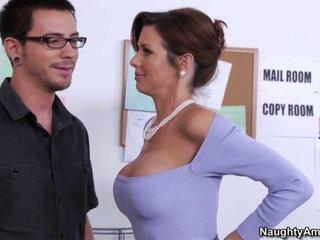 brunette, fucking, blowjob, babe, sex, big tits