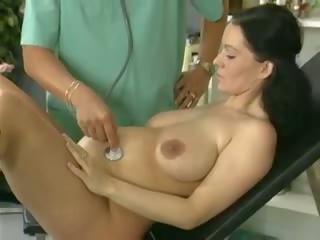 حامل زوجة دراسة و مارس الجنس بواسطة ال الطبيب: حر الاباحية 61