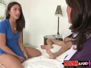 Busty MILF Tara Holiday joins hot teens