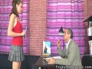 Perverted Professor Fucking This Innocent Schoolgirl