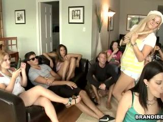Thrilling orgy with babes