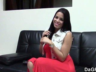 Cubana nena wants a ser un estrella porno
