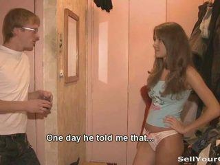 Đẹp thiếu niên dasha sold cô ấy âm hộ