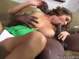 Interracial Creampie with Alex Chance