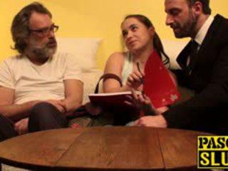 Traviesa anal profesora olga getting taught un duro sexo lesson