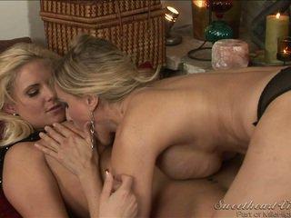 ideaal lesbische seks, grote borsten, echt lesbisch heet
