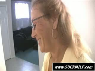 sucking, old, cumshot in mouth
