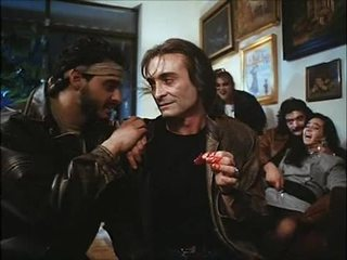 La noche del ejecutor (1992) іспанська birthday: дружина & дочка трахкав & spoiled