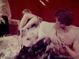porn retro, vintage seks, retro pool sex