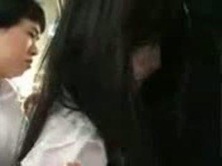 Saori Hara In The Train