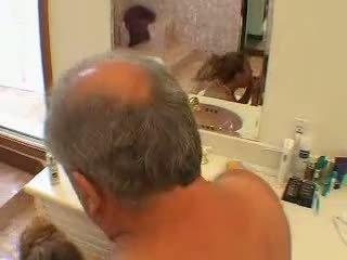 bathroom, old farts, asian