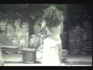 Vintage egzotyczne dancer