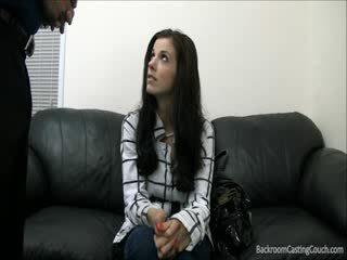 Lief kara has niet sperma in over eight months zeer mooi en verlegen naar de einde kara eindelijk had haar sperma