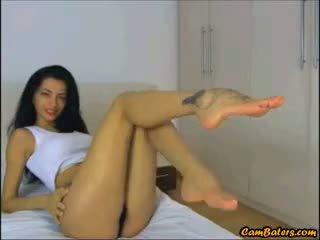brunette, webcam, babe
