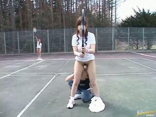 Japanilainen seksikäs malli saada naida video-